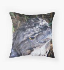 Tawny Frogmouth (Podargus strigoides) Throw Pillow