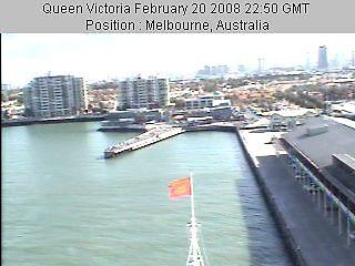 Queen Victoria in Melbourne by dummy