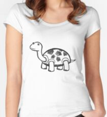 Professional Turtle Women's Fitted Scoop T-Shirt