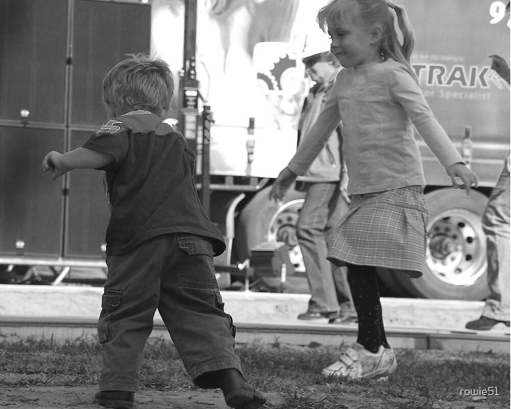 kids dancing by rowie51
