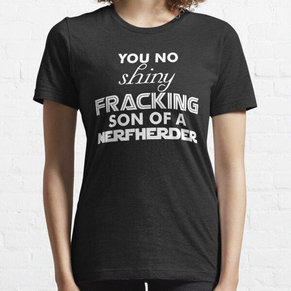 Intergalactic Trash Talk (White) Essential T-Shirt