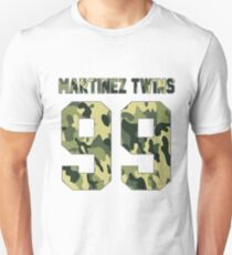 Martinez Twins - Camo T-Shirt