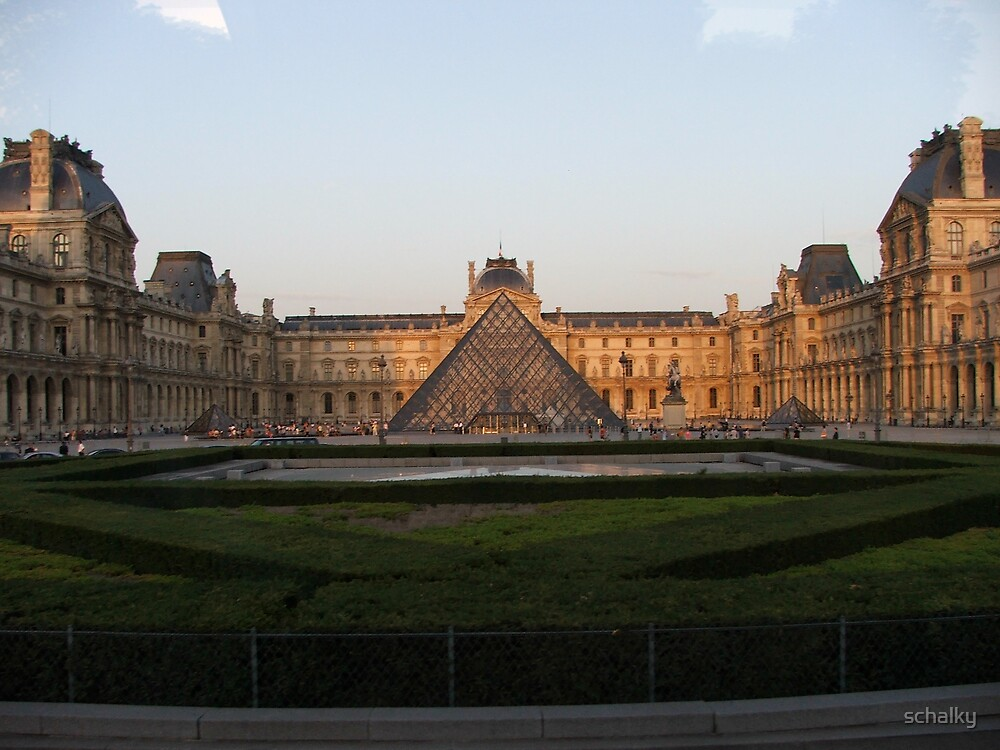 The Louvre by schalky
