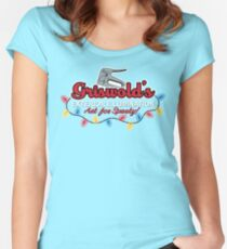 Griswold's Exterior Illumination Women's Fitted Scoop T-Shirt