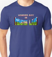 Wonder Boy in Monster Land - Title Screen Unisex T-Shirt