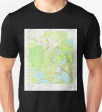 USGS TOPO Map Florida FL Keystone Heights 346932 1949 24000 T-Shirt