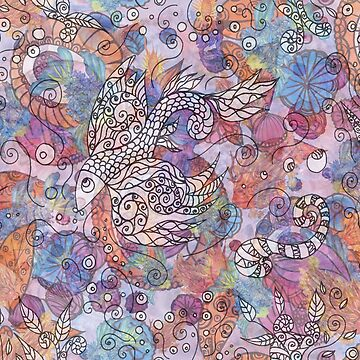 Psychedelic fish by ChrisiS