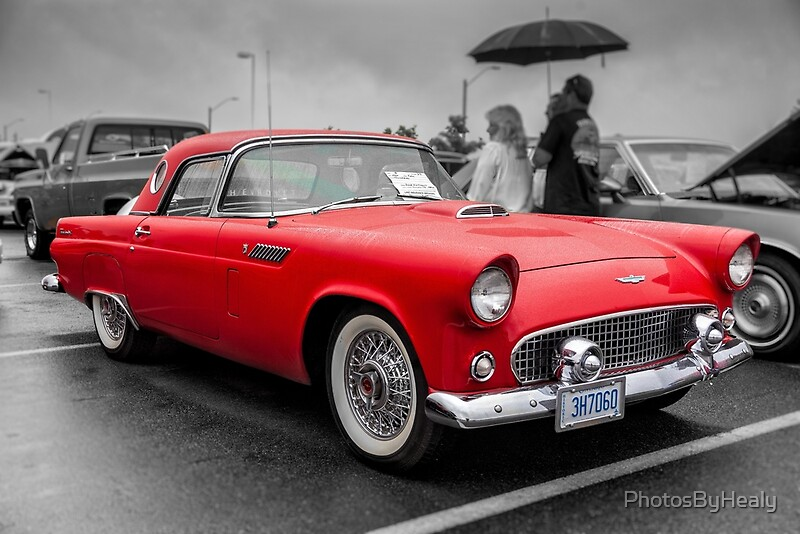 1956 Ford Thunderbird by Photos by Healy