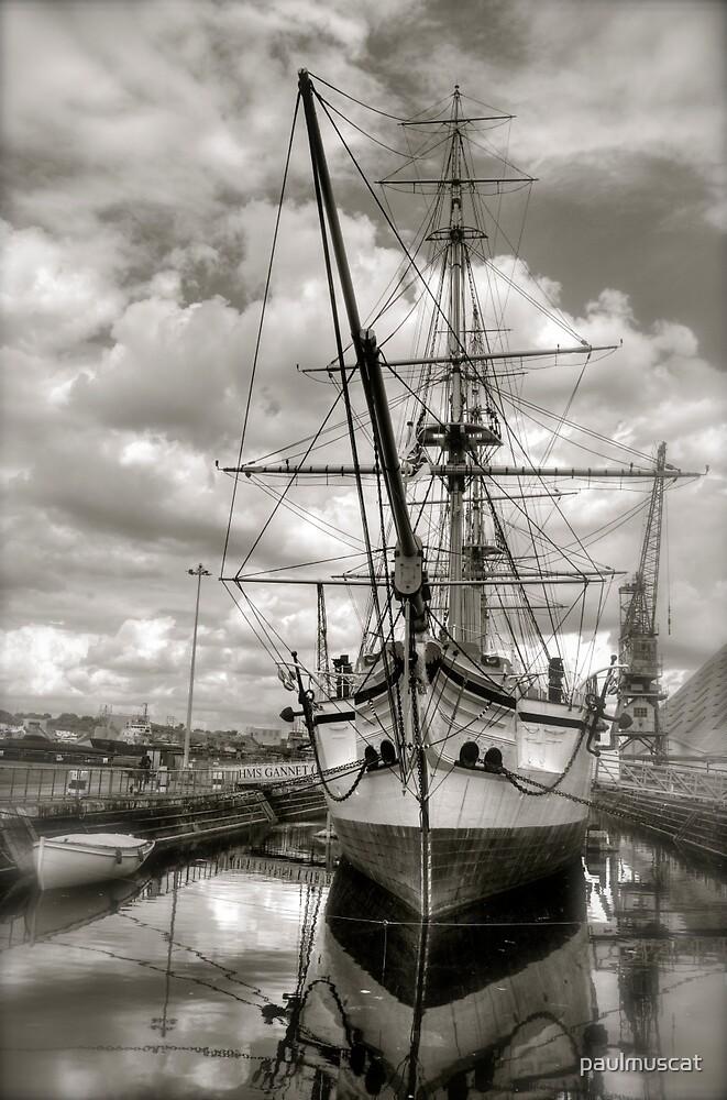 HMS GANNET by paulmuscat