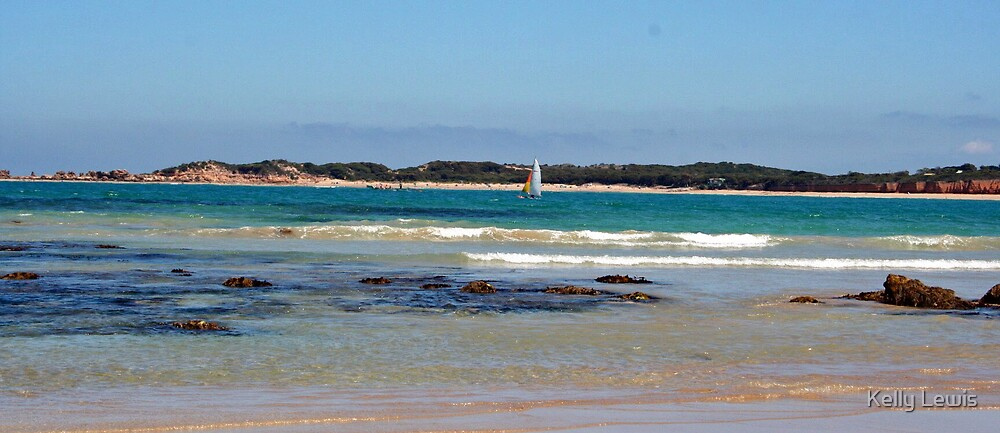 Anglesea Seascape by Kelly Lewis