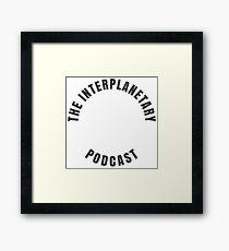 The Podcast Logo -plain Framed Print
