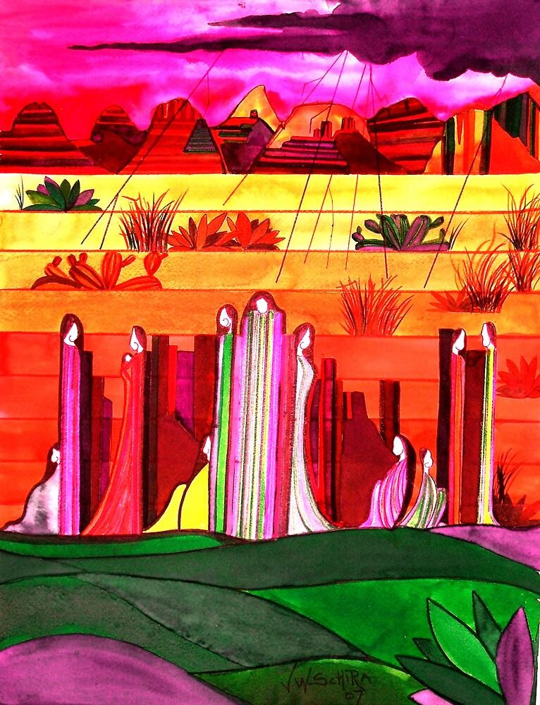 Rock Spirits 1 by Jamie Winter-Schira