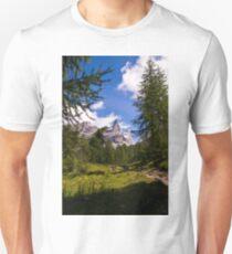 Alpine Scene Unisex T-Shirt