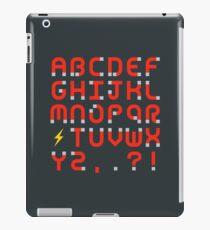 Magnet Alphabet iPad Case/Skin