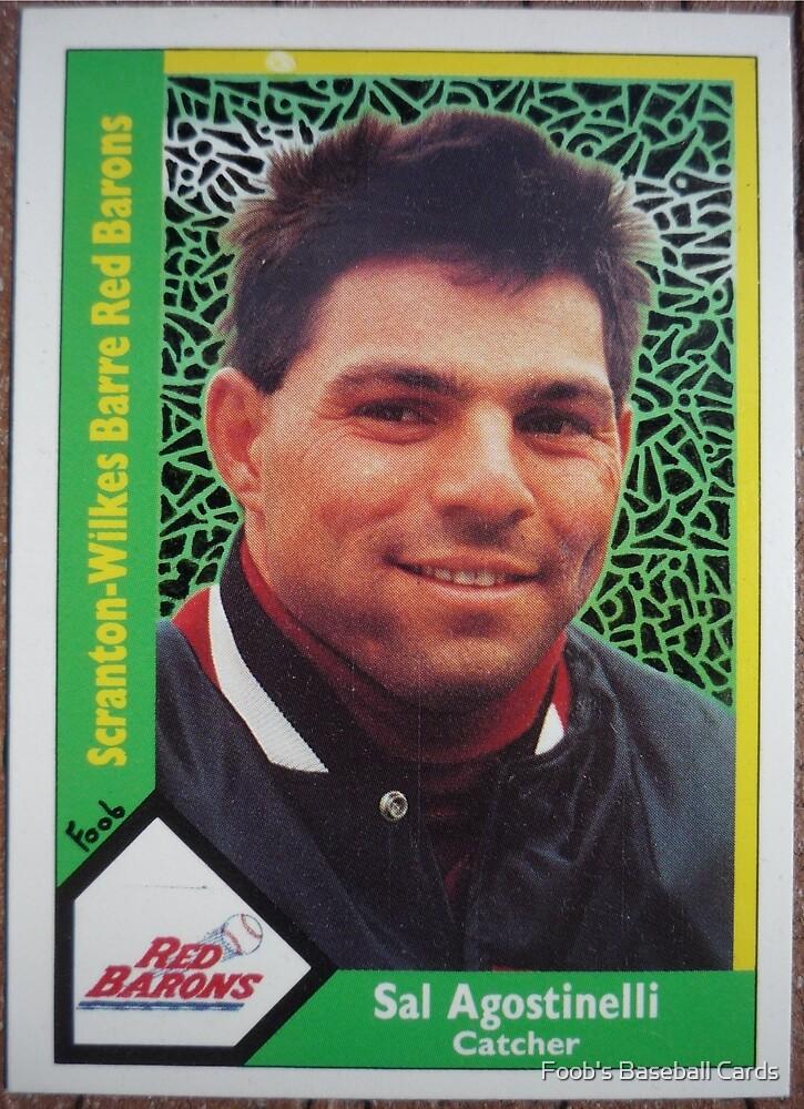 286 - Sal Agostinelli by Foob's Baseball Cards