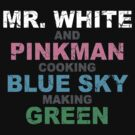 Breaking Bad Colors by Grady