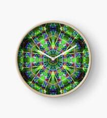 Albert Hoffman Blotter mandala Clock