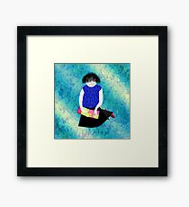 Her Picture Book Framed Print