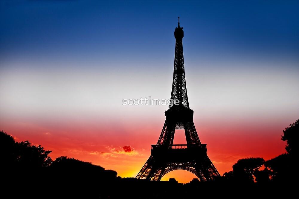 Eiffel Tower by scottimage