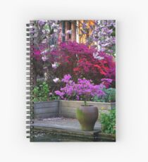 Purple Explosion Spiral Notebook