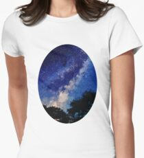 Sleeping with the Stars Womens Fitted T-Shirt