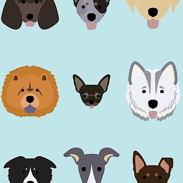 Doggos! by samielsiedesign