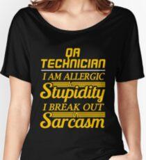 QA TECHNICIAN Women's Relaxed Fit T-Shirt