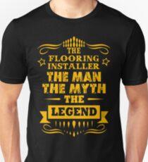 FLOORING INSTALLER Slim Fit T-Shirt