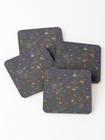 Cosmic fractals Coasters