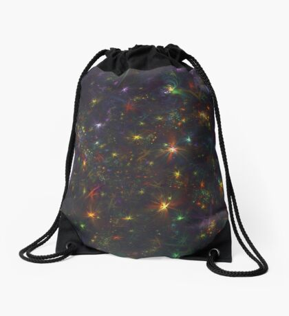 Cosmic fractals Drawstring Bag