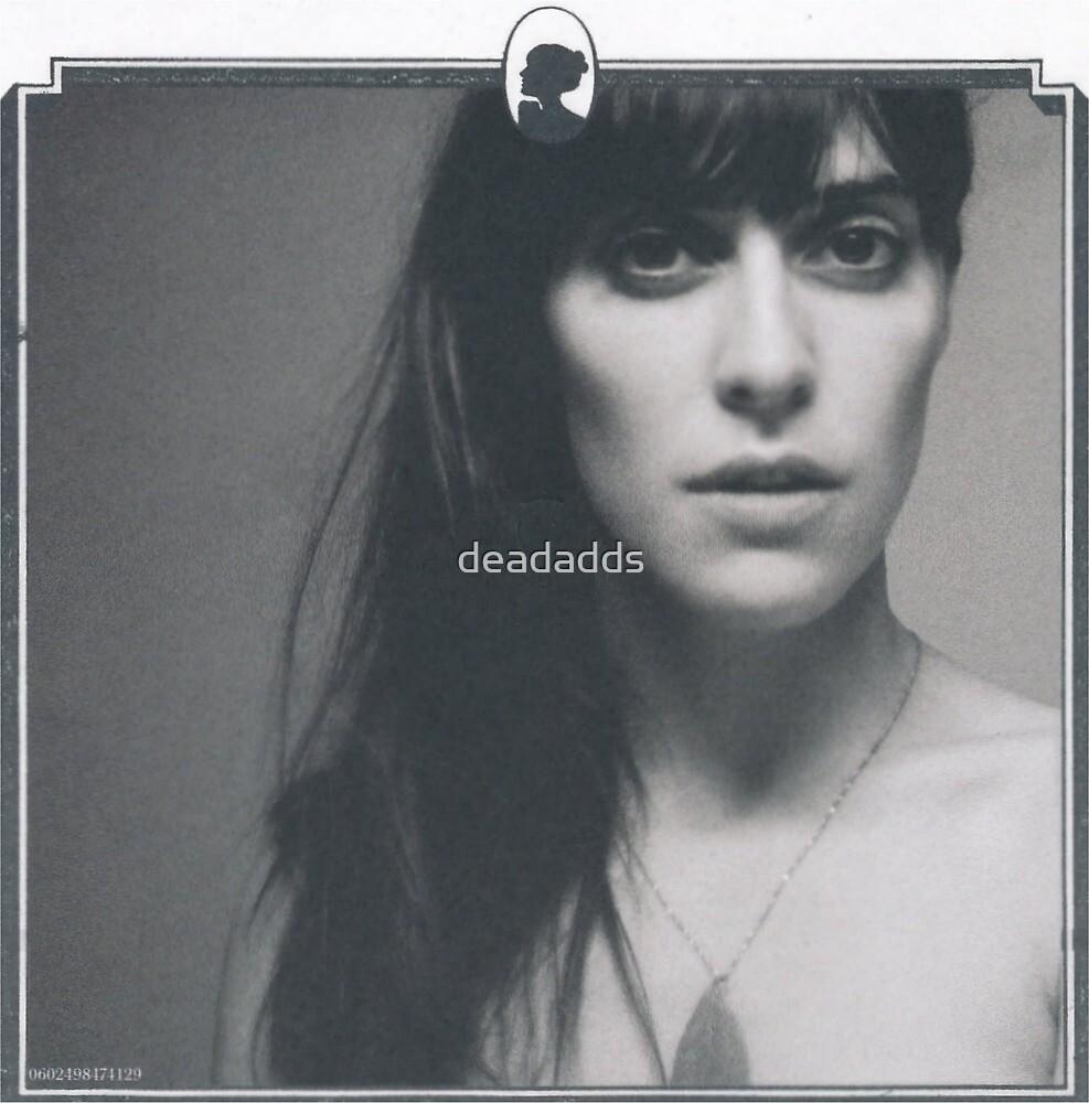 Fan art Feist sticker classic portrait by deadadds