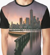 Summer Sunrise in Newport Graphic T-Shirt