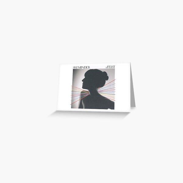 Feist Fan art sticker Reminder cd sleeve Greeting Card