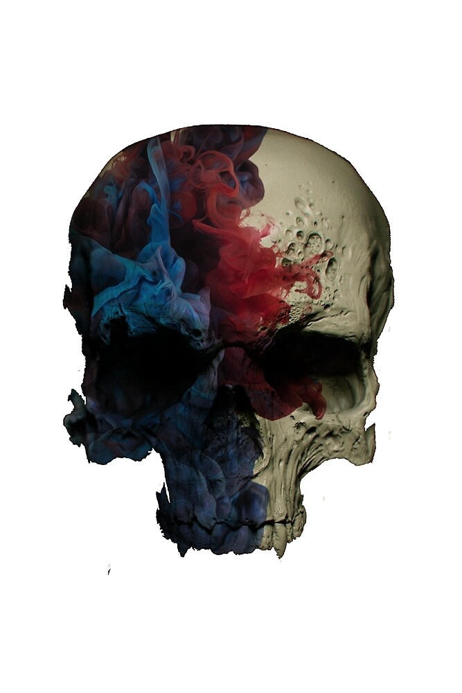 Awesome Painted Skull by vdangwalv
