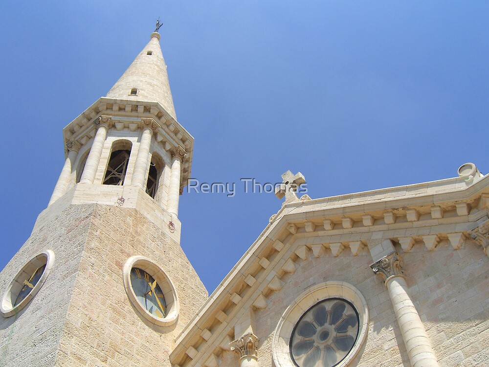 Church and Sky by Remy Thomas