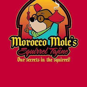 Morocco Mole's Squirrel Tajine by Grady