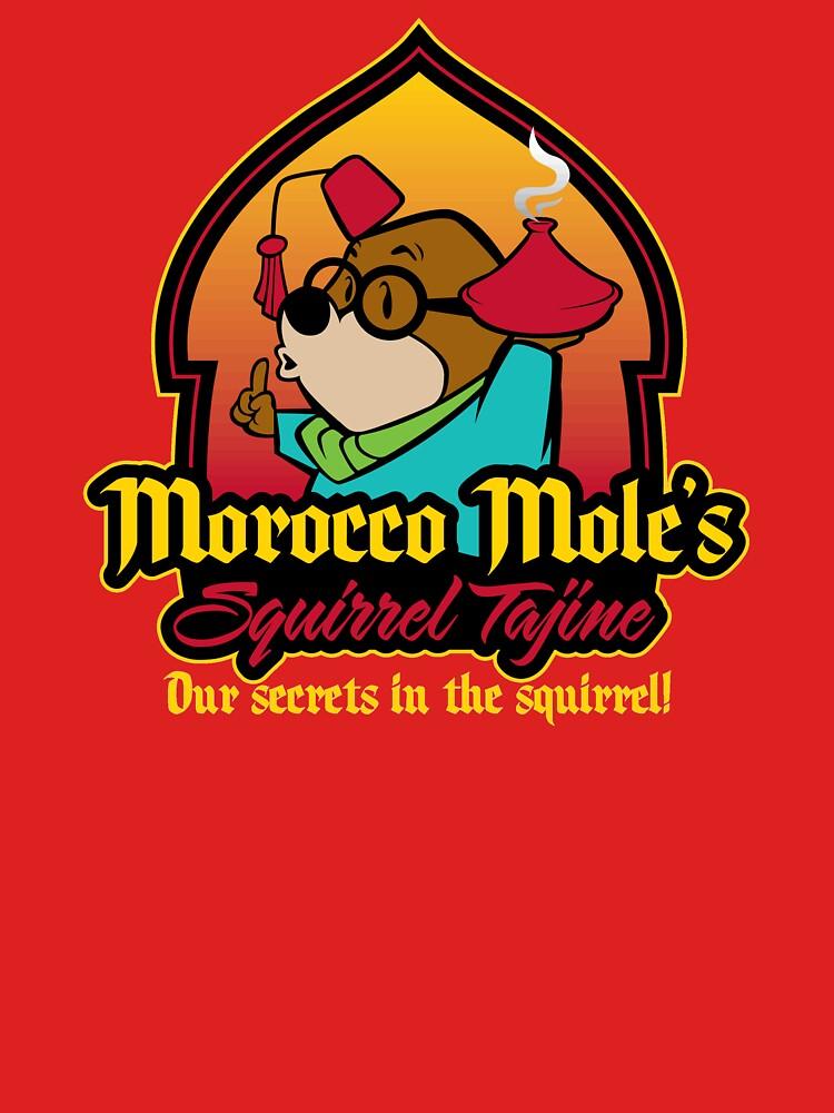 Morocco Mole's Squirrel Tajine | Unisex T-Shirt