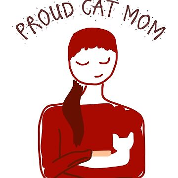 Cat Mom T-Shirt by ByStreetDesigns