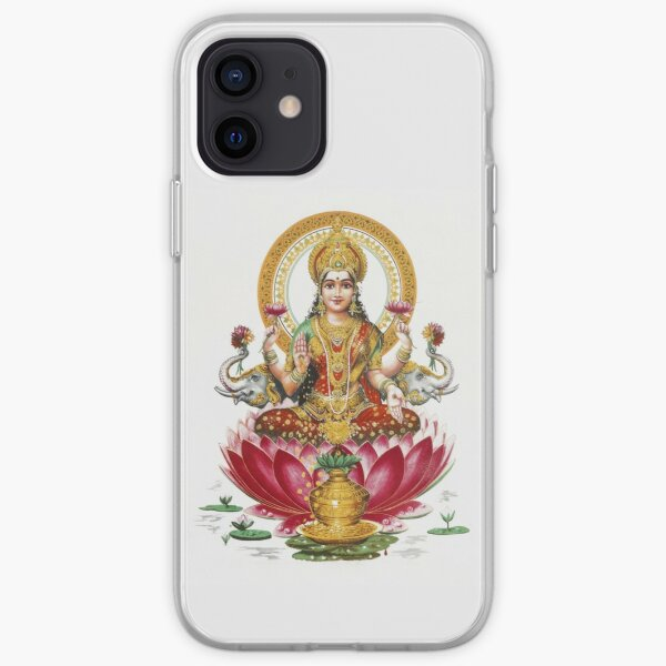 Lakshmi - Hindu Goddess of Wealth, Fortune, Health and Prosperity iPhone Soft Case