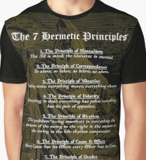 The 7 Hermetic Principles Graphic T-Shirt