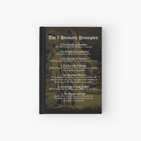 The 7 Hermetic Principles Hardcover Journal