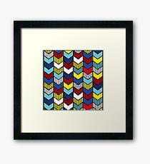 Playful arrows Framed Print