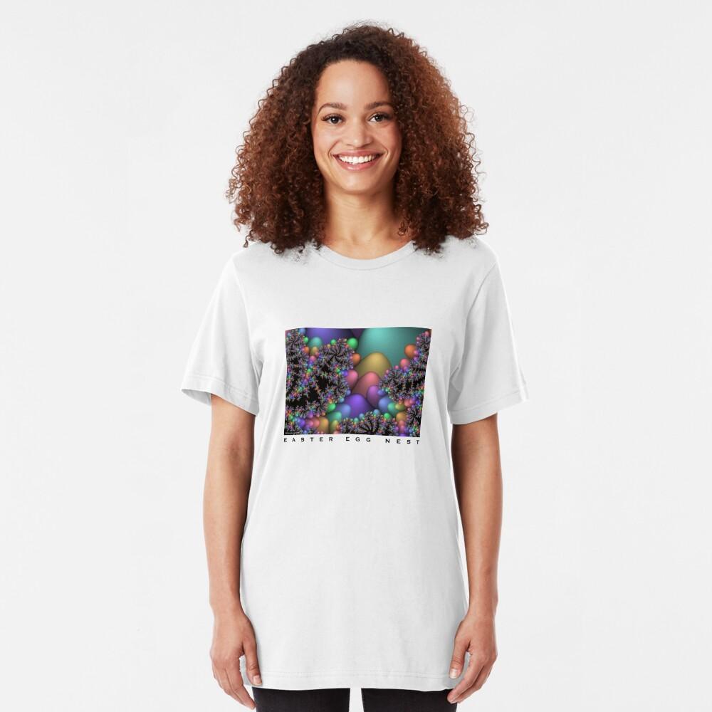 Easter Egg Nest Slim Fit T-Shirt