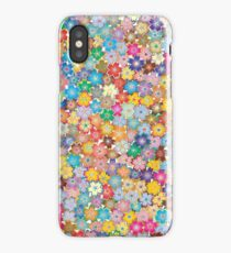 Little Colorful Flowers iPhone Case/Skin