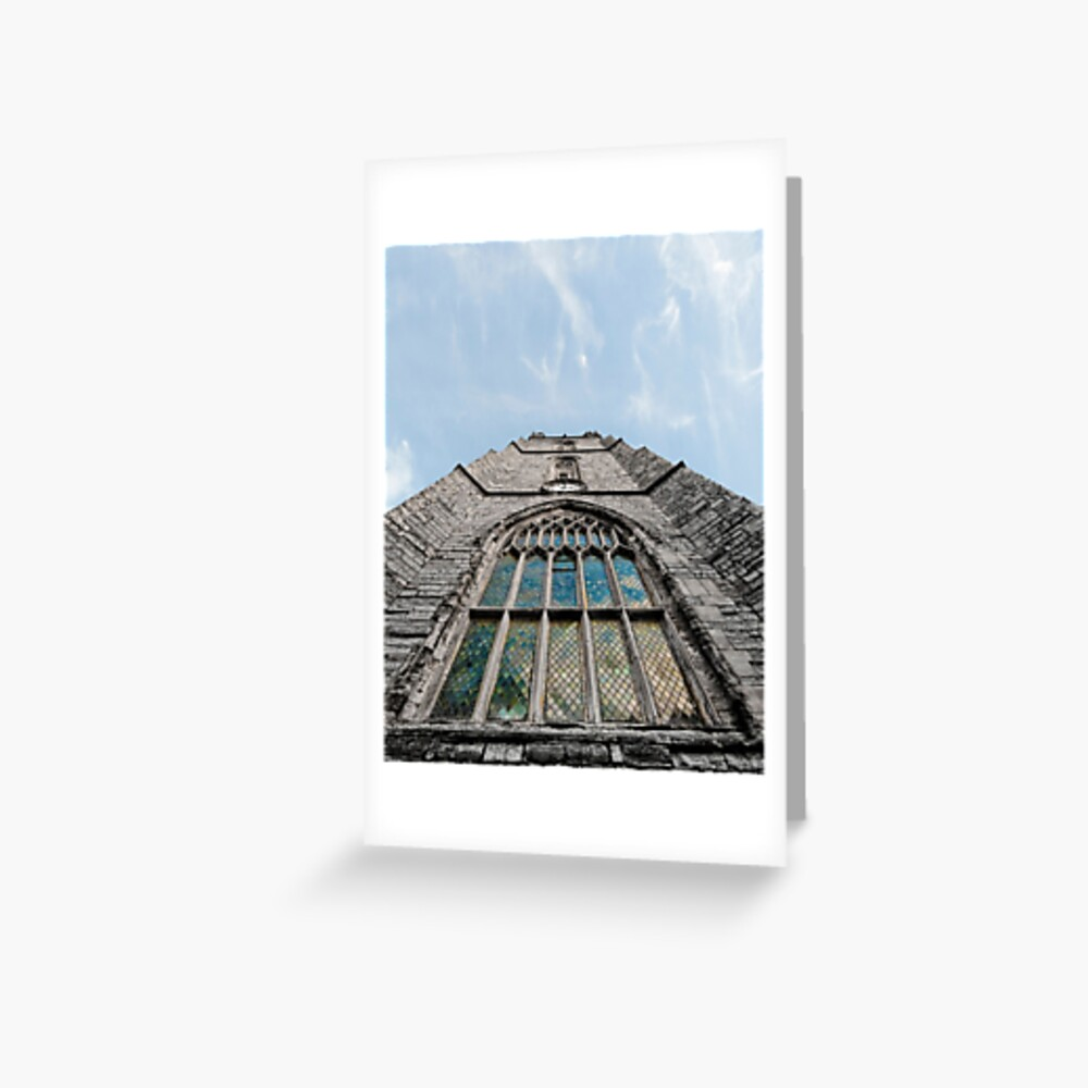 Cardiff Church Tower Greeting Card