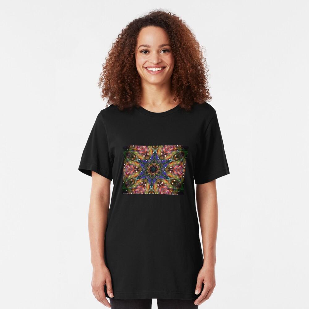 Water Kaleidescope2 Slim Fit T-Shirt