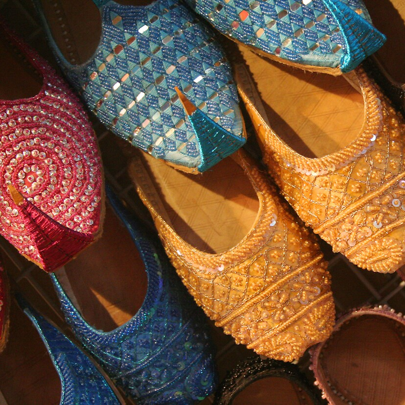 Patterned slippers by marycarr
