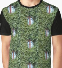 window in ivy - green nature in the city Graphic T-Shirt