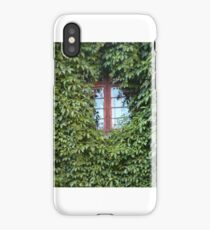window in ivy - green nature in the city iPhone Case/Skin