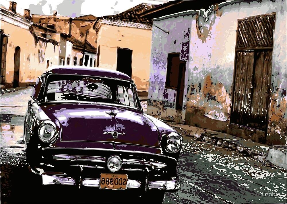 Cuban street by Grobie